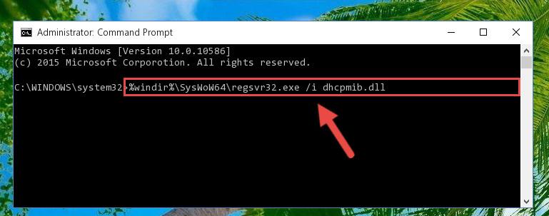Creating a clean and good registry for the Dhcpmib.dll file (64 Bit için)
