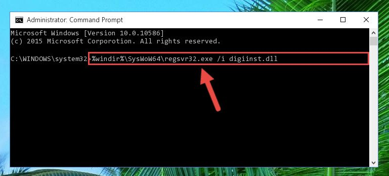 Creating a clean and good registry for the Digiinst.dll file (64 Bit için)