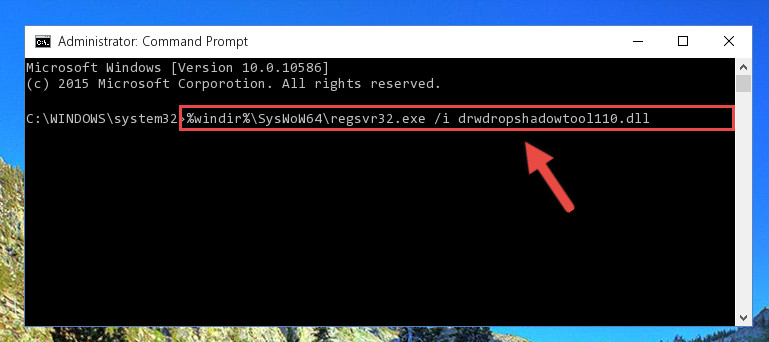 Creating a clean and good registry for the Drwdropshadowtool110.dll library (64 Bit için)