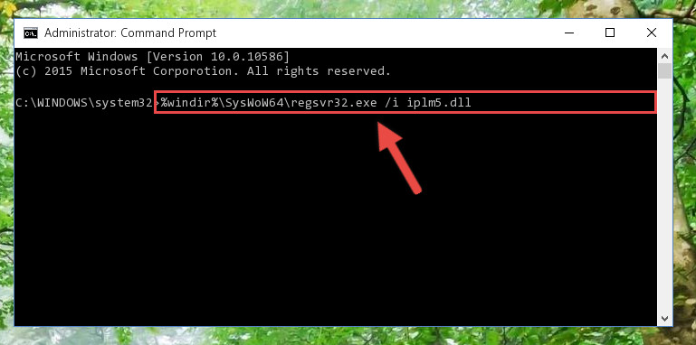 Creating a clean registry for the Iplm5.dll file (for 64 Bit)