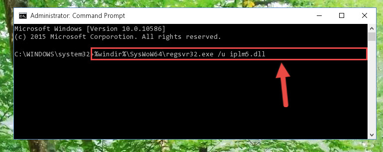 Uninstalling the Iplm5.dll file's problematic registry from Regedit (for 64 Bit)