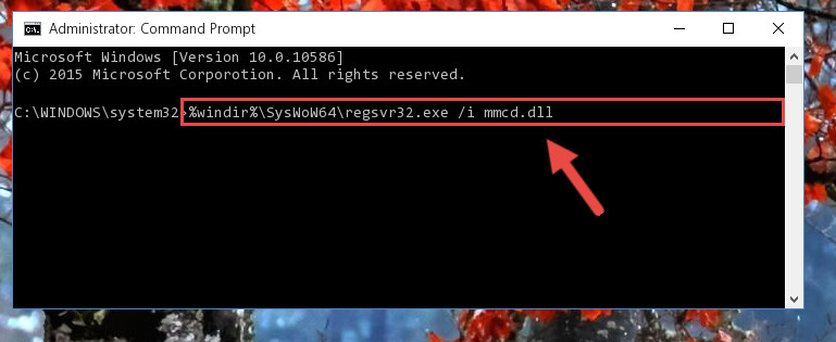 Creating a clean registry for the Mmcd.dll file (for 64 Bit)