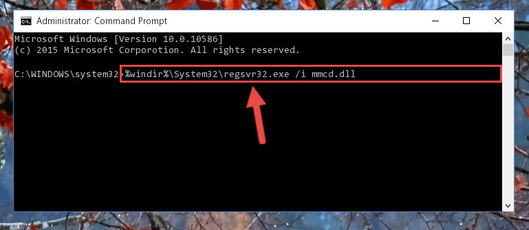 Creating a new registry for the Mmcd.dll file