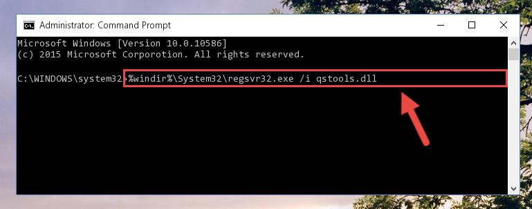 Making a clean registry for the Qstools.dll file in Regedit (Windows Registry Editor)