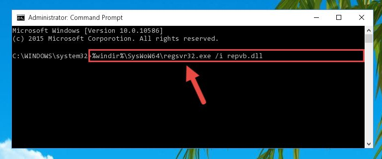 Creating a clean and good registry for the Repvb.dll file (64 Bit için)