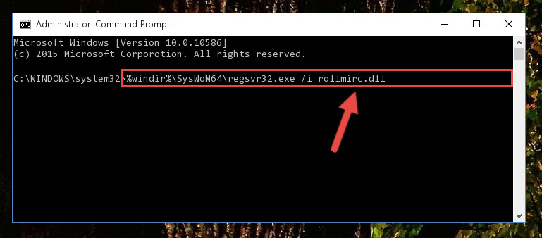 Creating a clean and good registry for the Rollmirc.dll library (64 Bit için)