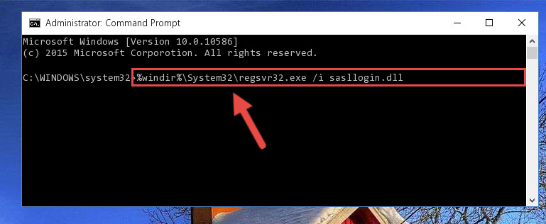 Making a clean registry for the Sasllogin.dll file in Regedit (Windows Registry Editor)