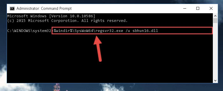 Uninstalling the Sbhun16.dll library's problematic registry from Regedit (for 64 Bit)