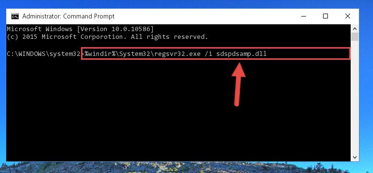 Making a clean registry for the Sdspdsamp.dll file in Regedit (Windows Registry Editor)
