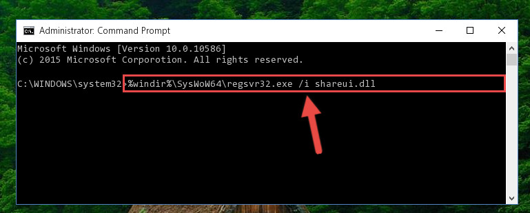 Creating a clean and good registry for the Shareui.dll library (64 Bit için)
