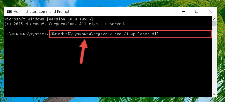 Creating a clean and good registry for the Wp_laser.dll file (64 Bit için)