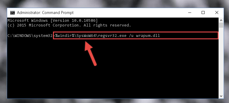 Uninstalling the Wrapum.dll library's problematic registry from Regedit (for 64 Bit)