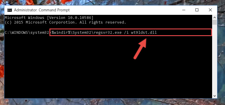 Making a clean registry for the Wt9ldst.dll library in Regedit (Windows Registry Editor)